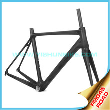YISHUNBIKE hot sale FM045-v superlight stiff BB86 carbon bicycle frame china T1000 carbon
