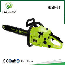 """2 stroke gasoline 3800 chainsaw with 16"""" bar and saw"""