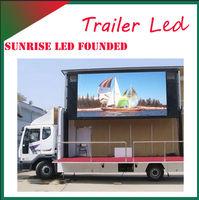 P10 RGB full color digital truck mobile led display mobile vehicle led display