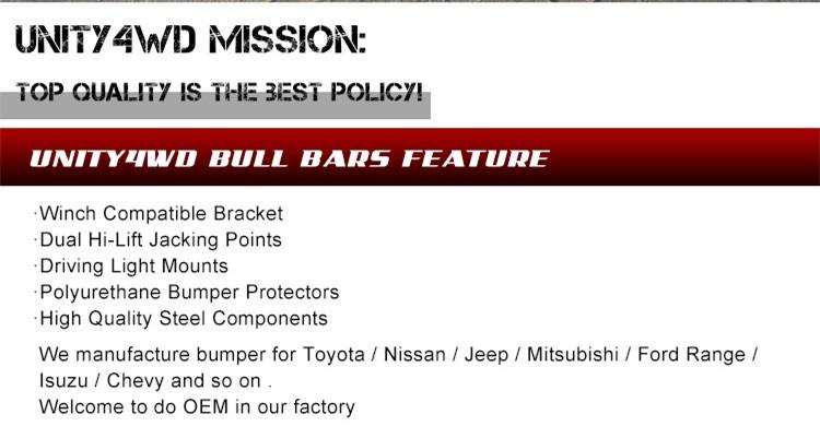 NISSAN PATROL Y61 Bull Bar