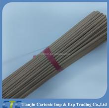 Materia prima Color de la naturaleza hecha palo de incienso para ee.uu. mercado