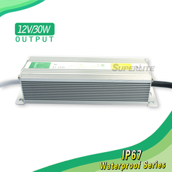 power switching supply waterproof led driver ip67 230vac to 24vdc power supply