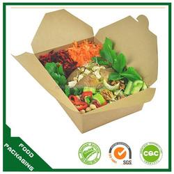 custom design safe food grade hot box food container