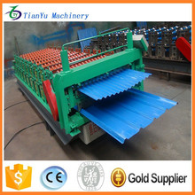 color coated steel sheet machine Galvanized Steel Wall Plate Metal Roll Forming Machine roll former