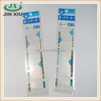 Blue printed OPP header bag for ball point pen refill
