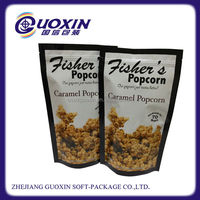 plastic high quality clear bags for snack food packaging