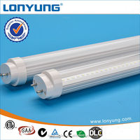 4FT 18W AC100-240V/120-277V 3 years warranty led tube light fixture t8 4ft DLC ETL TUV SAA ERP CE ROHS LCP Approved