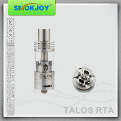 High quality atomizer rebuildable Talos RTA airflow control clear vaporizer
