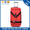 Factory easy carry on duffle wheeled bag, travel trolley luggage bag