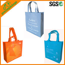 Eco recycled material tote bags for shopping