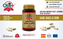 Cabellos & Uñas 225mg 100 Cápsulas - Suplemento alimenticio