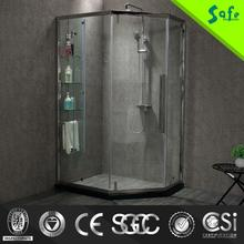 Professional 2015 stainless steel glass shower rooms with CE certificate
