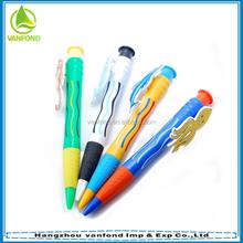 Professional custom giant christmas gift pen for promotion