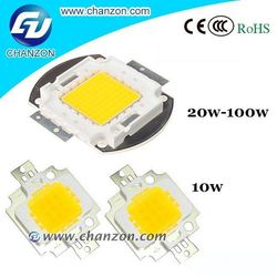 High brightness 20w 30w 50w 100w Epistar Integrated high power Led chip light lamp led driver 5w