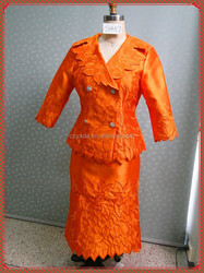 Women business women formal suits embroidery lady church suit