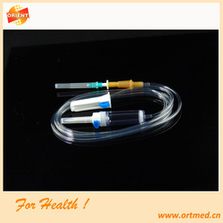 OEM Non Toxic Stainless Steel / PVC Infusion Bag, Disposable Infusion Set