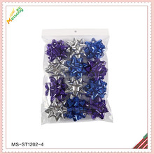 Magnetic confetti Bow package in pp bag