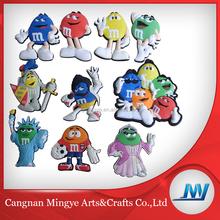 Promotional Cute 3D Soft PVC Souvenir Fridge Magnet