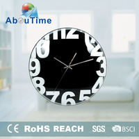Design Project plastic home decor gift table clock home decoration