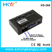 Telephone Call Recording Kits/Phone Call Voice Logger/Record & Monitor 2 Telephones Simultaneously