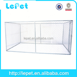 Large steel dog fence cage modular dog cage kennels for dog chain link kennel
