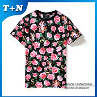 95 cotton /5 elastane t-shirt , sublimation t shirt , woman t-shirt