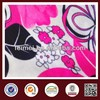 stretch satin fabric Feimei poly span fabric 100% polyester printed fabric