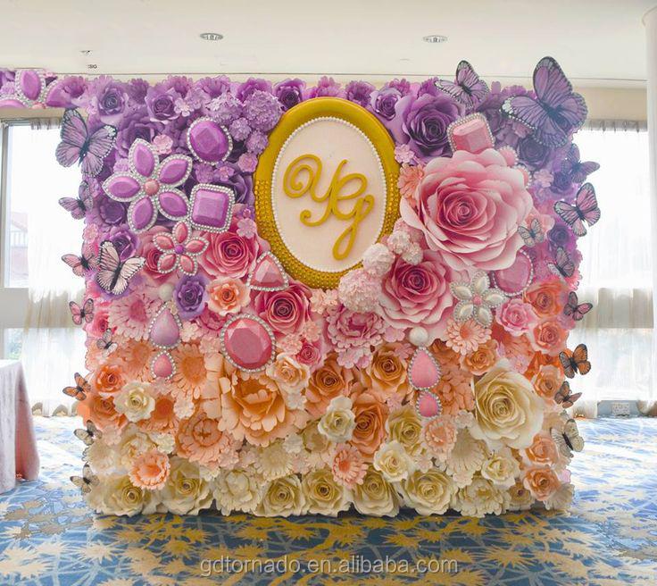 Large paper flowers backdrop giant paper flowers backdrop paper 2g mightylinksfo