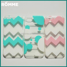 Hard Plastic Transparent mobile phone case with pattern printing for iphone 6 case transparent