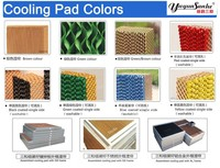 Air conditioner water cooling pad/wet curtain