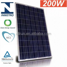 High efficiency 200w solar panels for home use