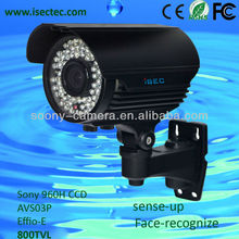 CMOS Onvif protocal H.264 compression mode/Dual stream encoding 1 MP/1.3MP Bullet Outdoor IP Camera
