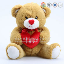 Plush ICTI OEM factory customized stuffed toys light up teddy bear plush toy