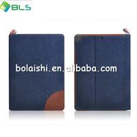 cowboy material colour matching cover case fot ipad air