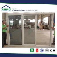Cheap price 3 tracks Double glass Sliding glass door