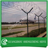 Welded wire mesh fence hot sale Y post airport fence razor barbed wire