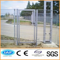 High quality main gate and fence wall design