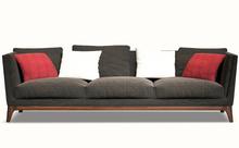 Modern Fashion Solid Wood Frame Fabric Sofa Design Furniture Living Room Sofa