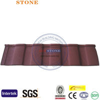 comfortable house latest model stone coated metal roofing sheets