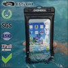 Pvc high quality waterproof bag for iphone with armband