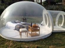 2015inflável ao ar livre de acampamento de tendas de bolha
