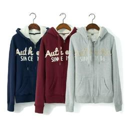 Thick Warm Hoodie for Women Cotton Sweatshirt