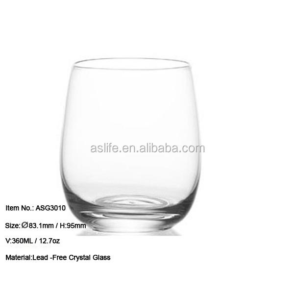 Asg3010 new producten hoge kwaliteit loodvrije kristal glas whisky grote drinkglazen glas - Loodvrije kristal ...