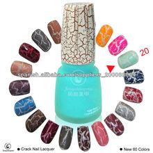 fengshangmei esmalte de uñas crackle de diferentes colores