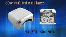 Beauty industry top quality 60w nail lamp nail uv lamp CE approve