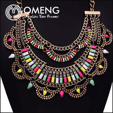 2015 Nice Jewelry, Colorful Ornamental Chain And Decorative Jewelry Chain