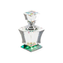 Wholesale beautiful brand custom crystal glass perfume bottle for gift