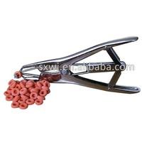 Emasculator Rubber ring castration tool, Castrator Ring Applicator