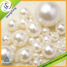 Smooth Surface and Dull Finishing Plastic Pearl