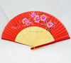 chinese personalized designs fabric bamboo hand fan